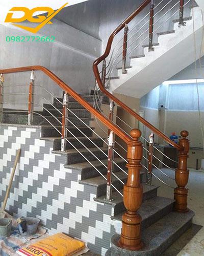 Mẫu trụ inox 304 cầu thang đẹp#6