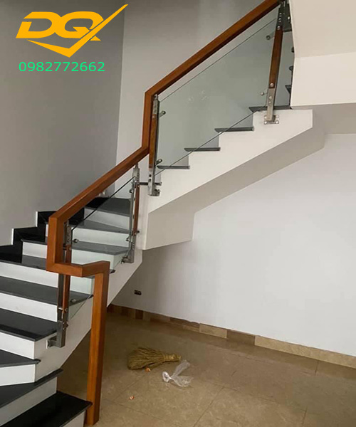 1001 ý tưởng trang trí cầu thang phòng khách đẹp